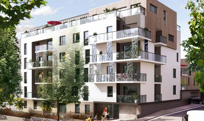 Programme immobilier neuf à Nantes