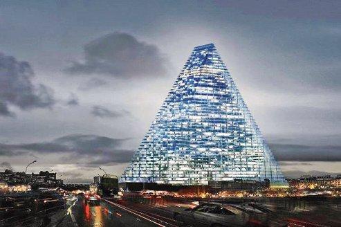Présentation de la tour triangle de Paris