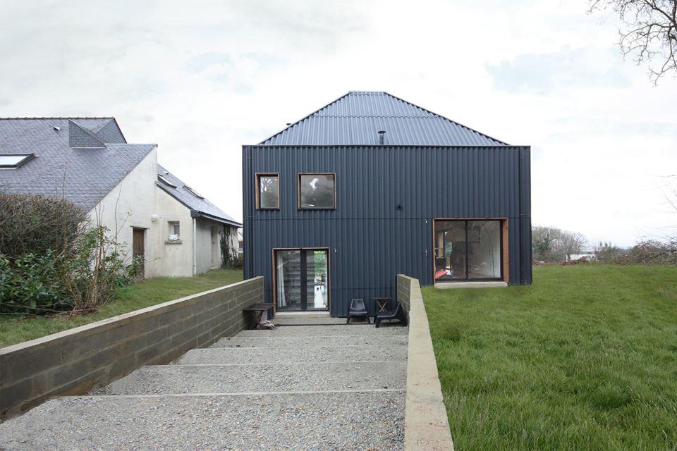 latest prix with cout maison neuve with estimation prix. Black Bedroom Furniture Sets. Home Design Ideas